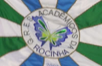 Flag of Acadêmicos da Rocinha Samba School