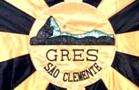 Samba School Flag So Clemente