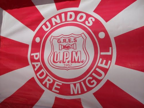 Flag of Unidos de Padre Miguel Samba School